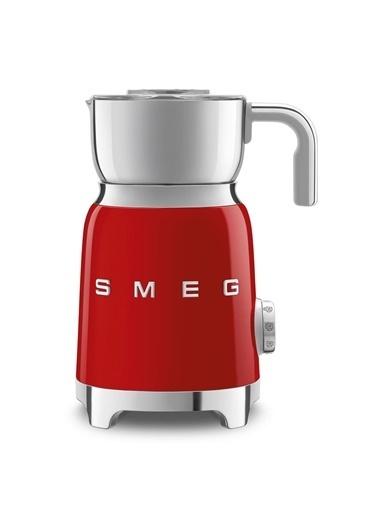 Smeg Mff01Rdeu Retro Kırmızı Süt Köpürtme Makinesi Kırmızı